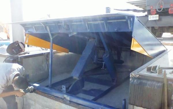 Diseño, fabricación e instalación de rampa